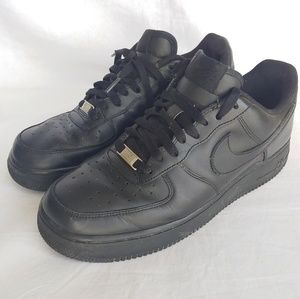 Nike Air Force 1 Mens Size #9 Triple Black